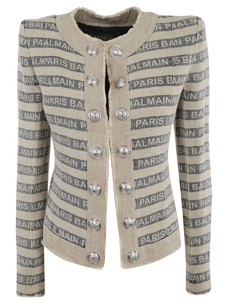 Balmain Gay Ficelle Jacket - MULTICOLOR