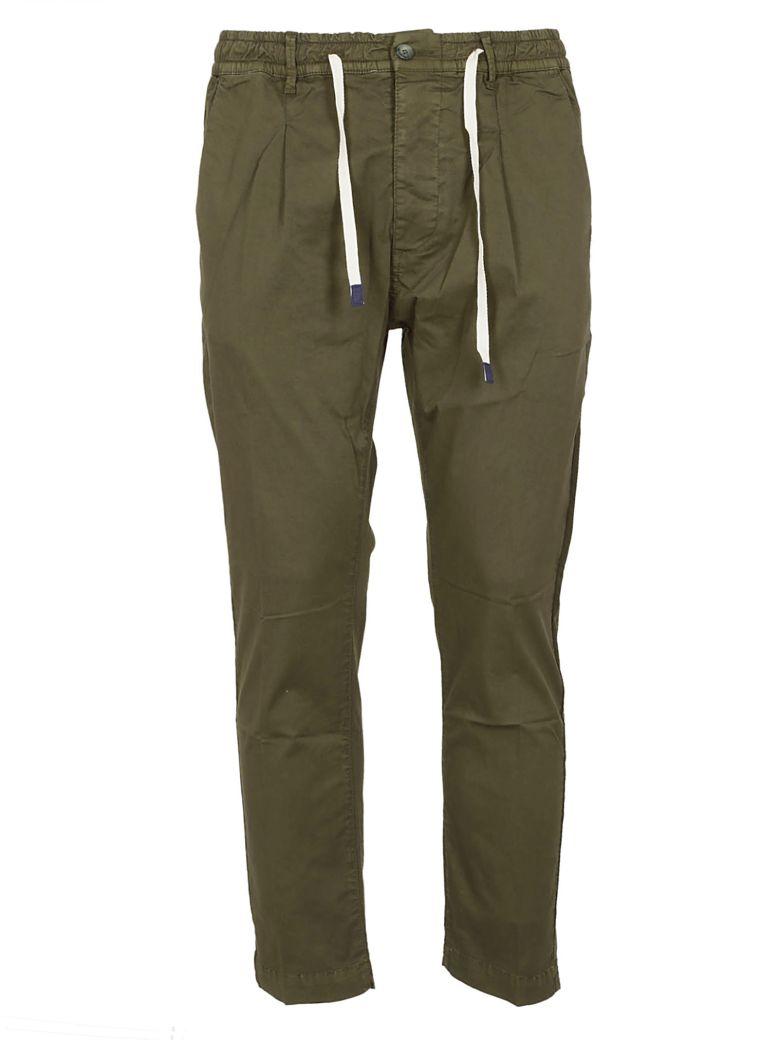 Cruna Drawstring-waist Trousers - Green