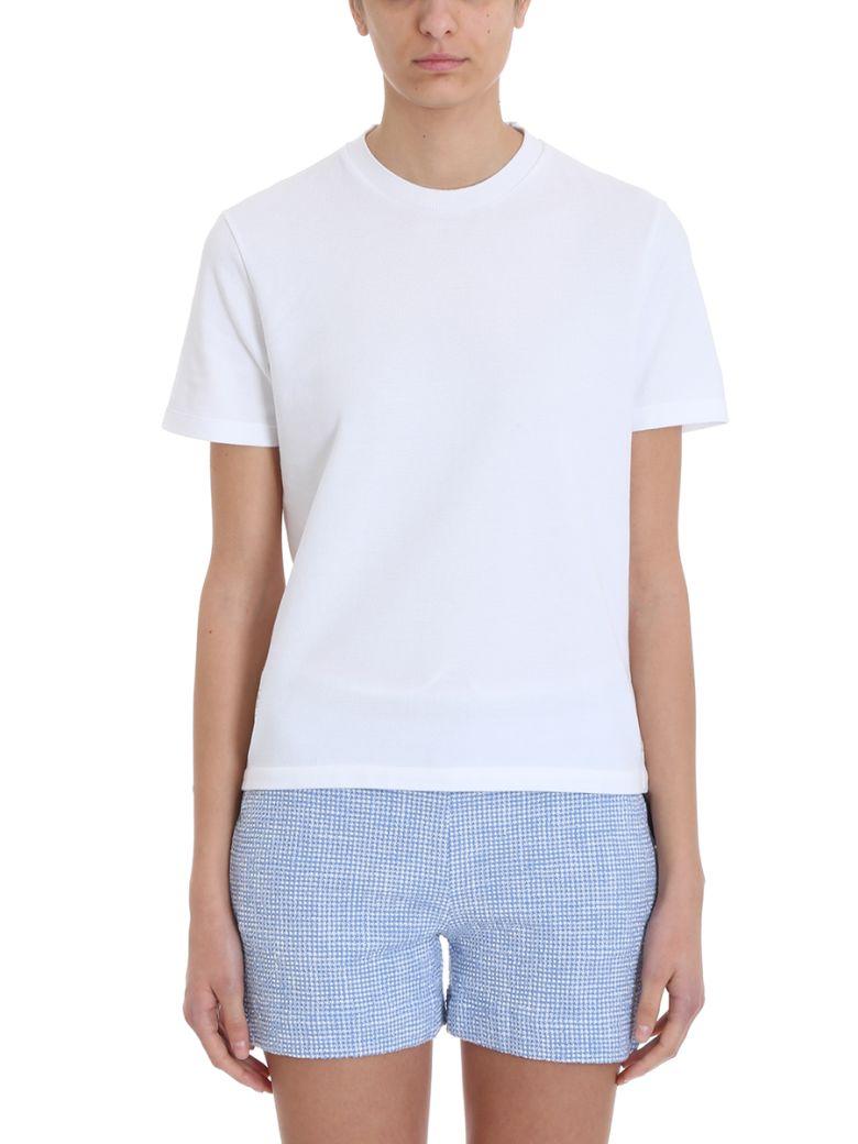 Thom Browne Rwb White Piqu? T-shirt - white