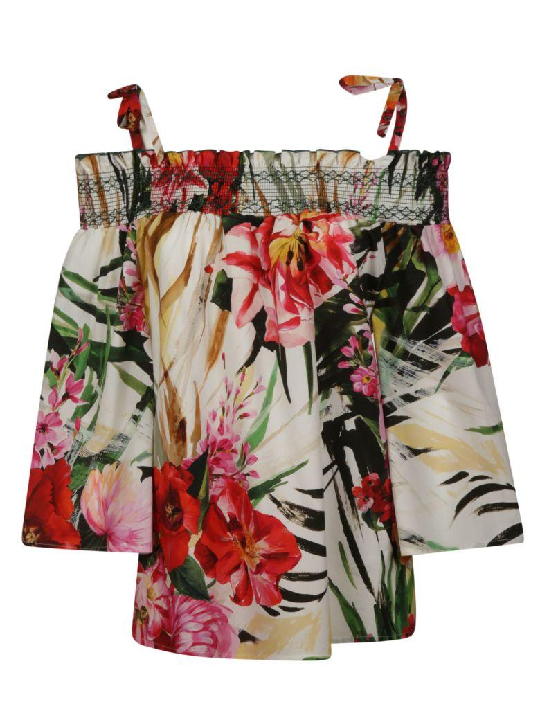 Blumarine Floral Print Top - Basic