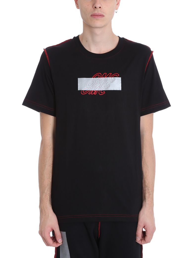 OMC Black Cotton T-shirt - black