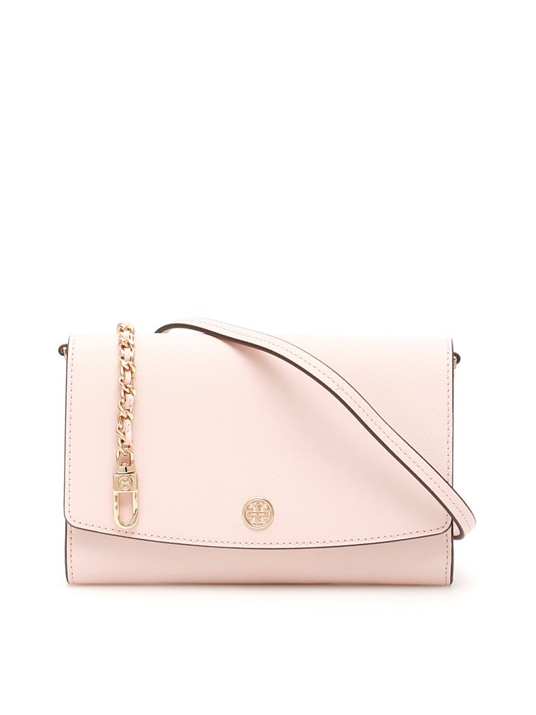 Tory Burch Robinson Chain Clutch - SHELL PINK (Pink)