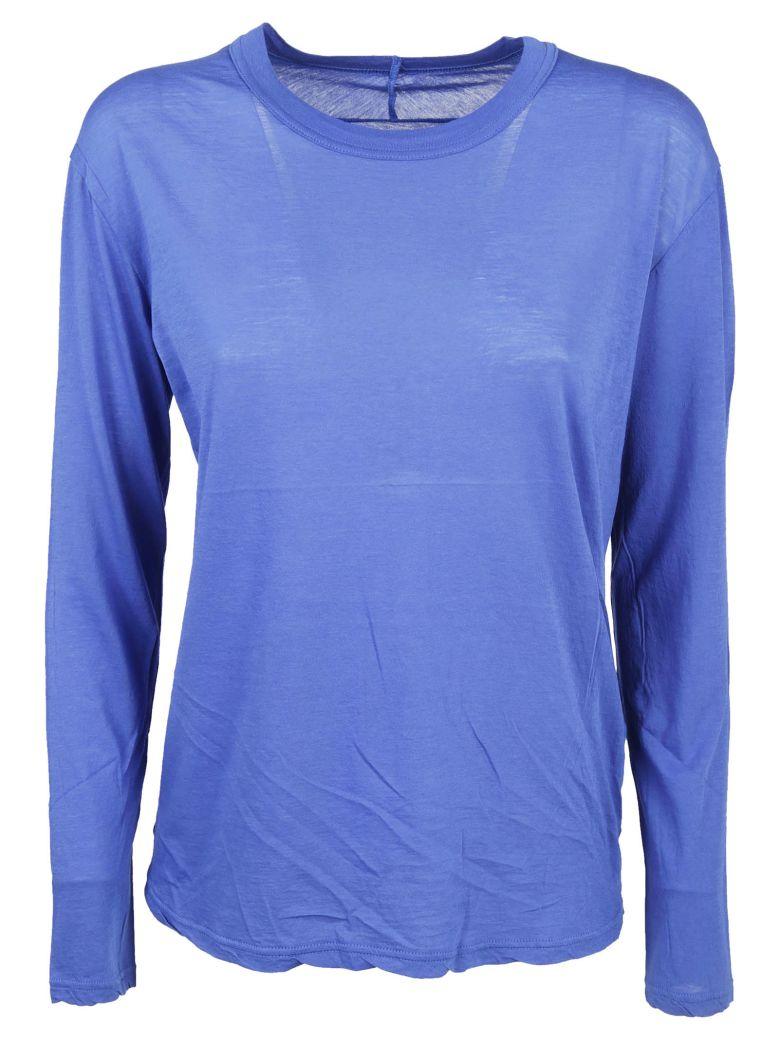 Zucca Round Neck Sweatshirt - Blue