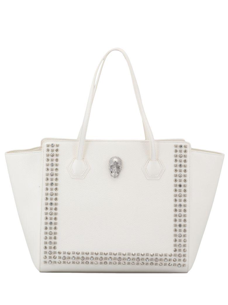 Philipp Plein Bag Leather - WHITE