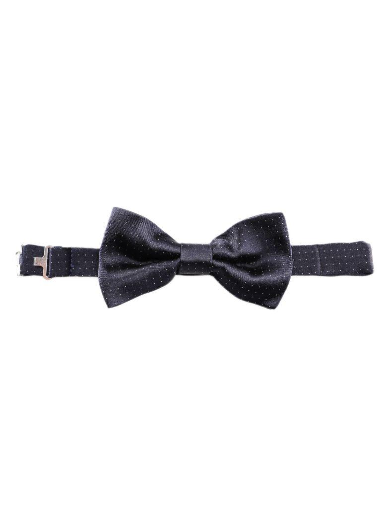 Tagliatore Patterned Bow Tie - Blue