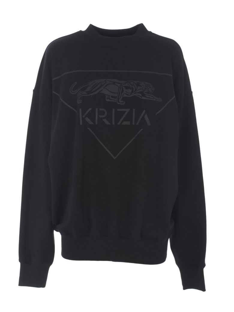 Krizia Logo Sweatshirt - Nero