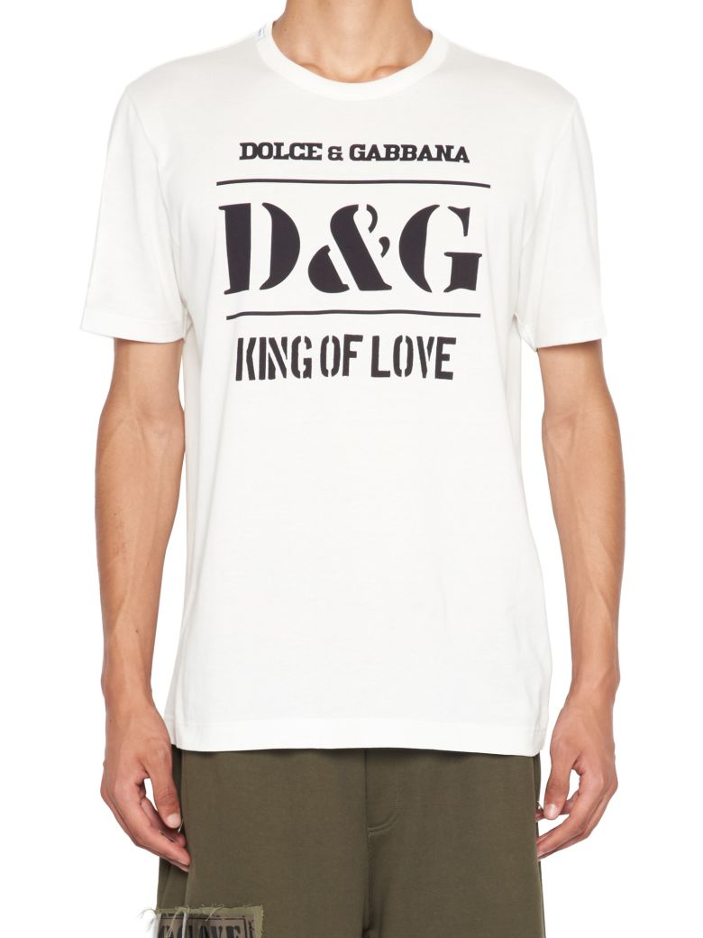 Dolce & Gabbana 'king' T-shirt - White