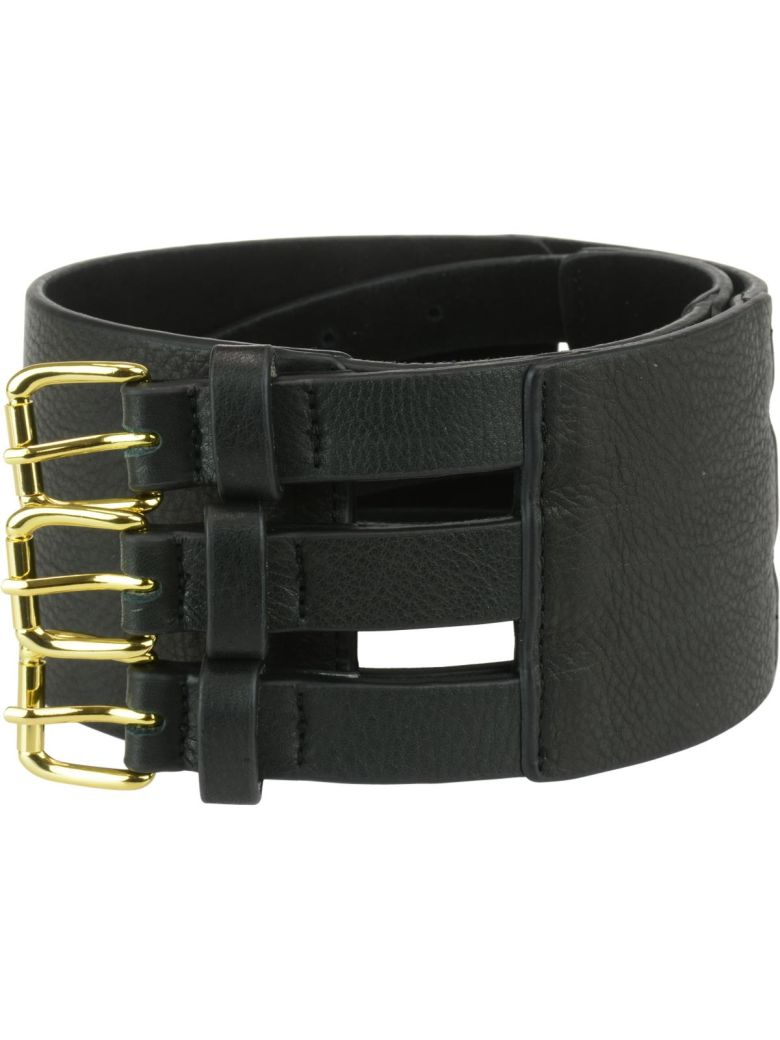 B-Low the Belt Scarlett Corset Belt - Black gold