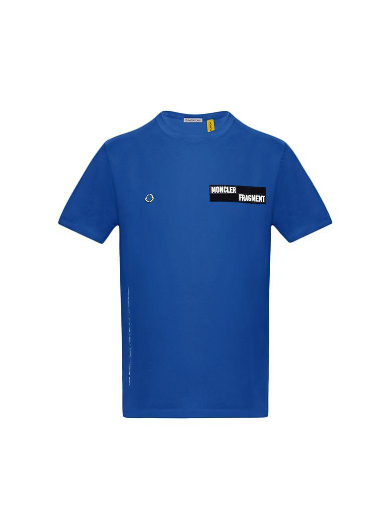 Moncler Genius Logo Patch T-shirt - Blue