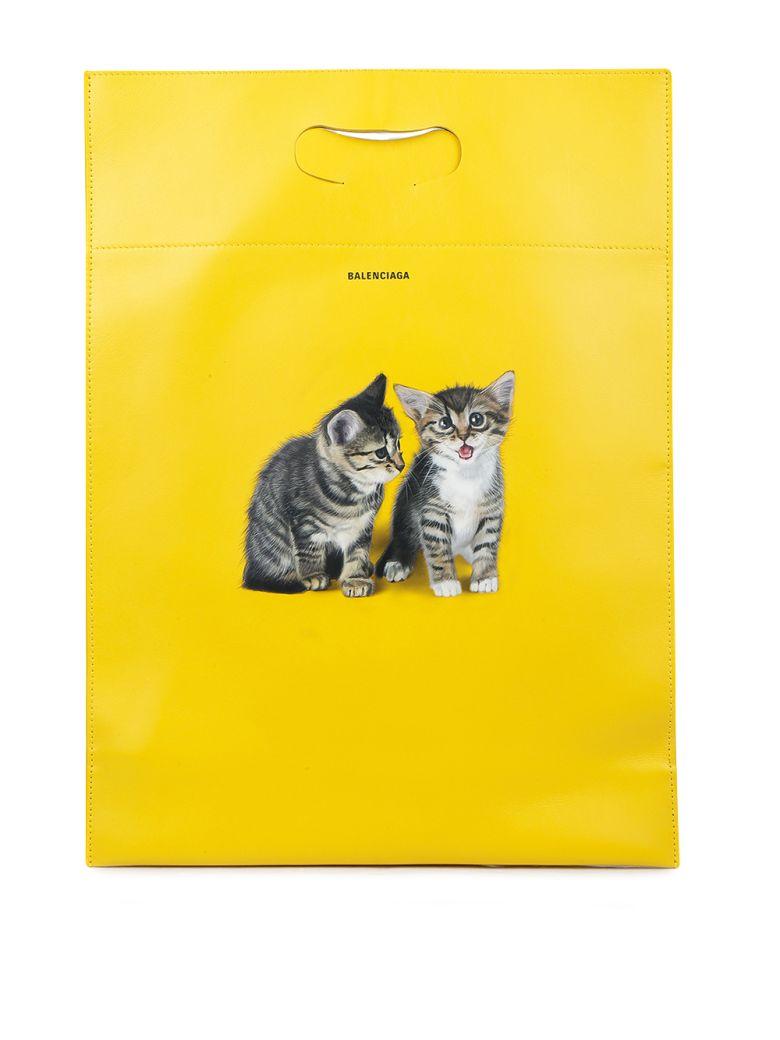 Balenciaga - Handbag - Jaune prim/noir