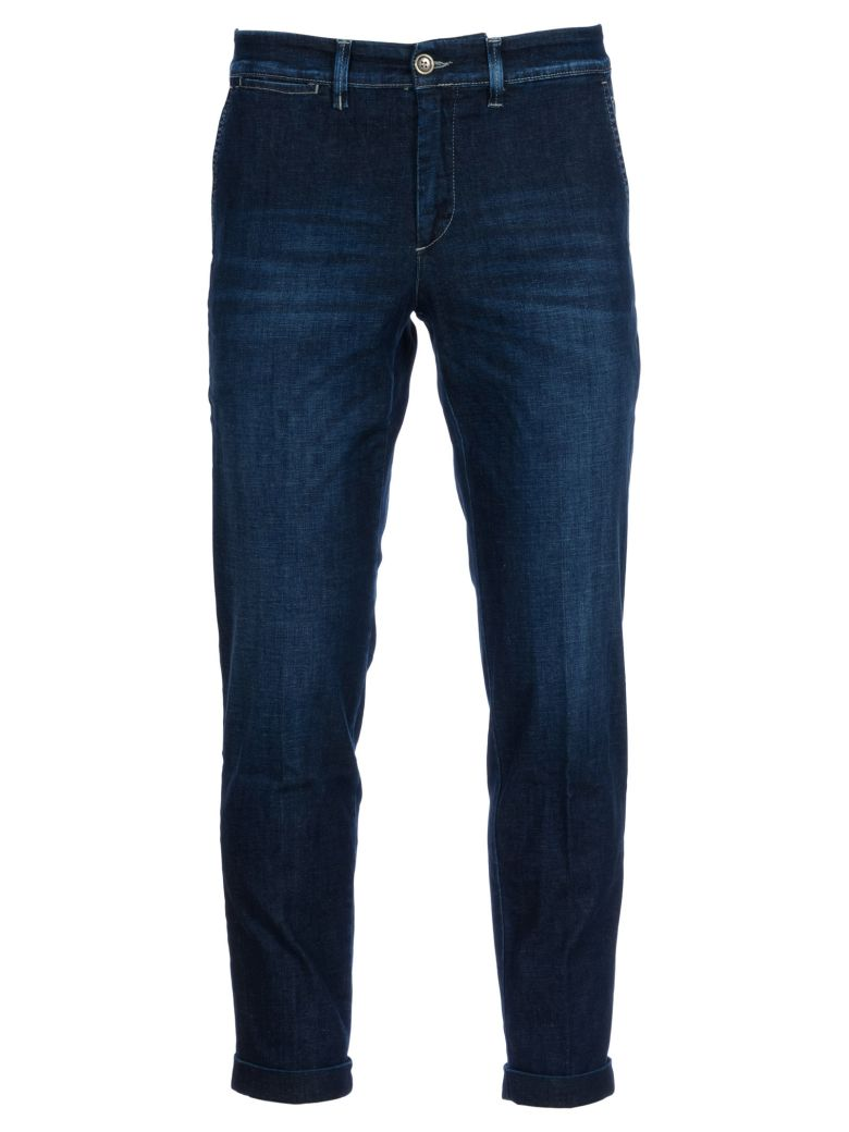 Jeckerson Cotone Slim Fit Jeans - Denim-scuro