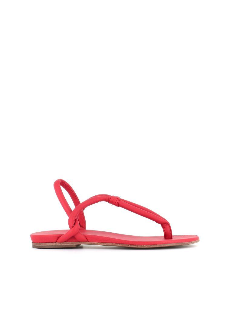 """Roberto del Carlo Flip-flop """"10725"""" - Red"""