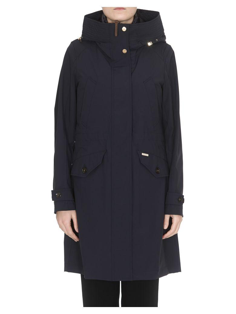 Woolrich Galena Raincoat - Navy