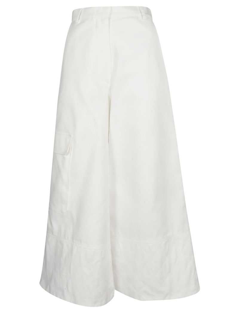 Moncler Wide Leg Trousers - Basic