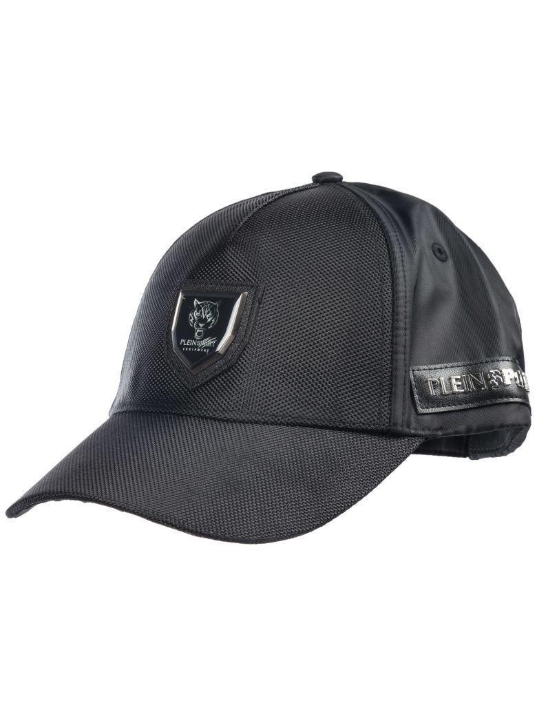 Philipp Plein Adjustable Hat Baseball Cap Visor - Black