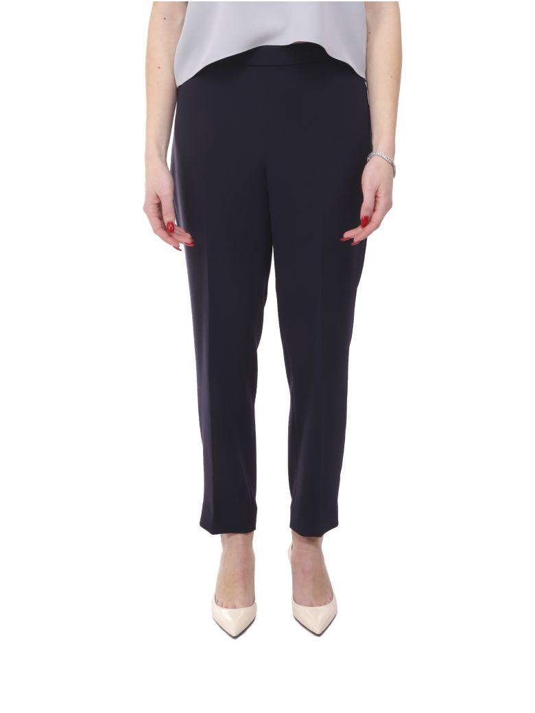 Theory Navy Trousers - Blue
