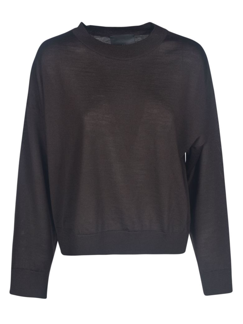 Erika Cavallini Cropped Jumper - Brown