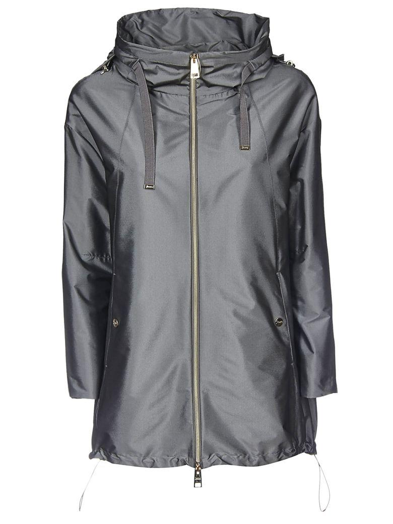 Herno Oversized Hooded Jacket - Grey