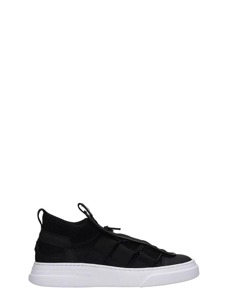 Bruno Bordese Sneakers In Black Tech/synthetic - black