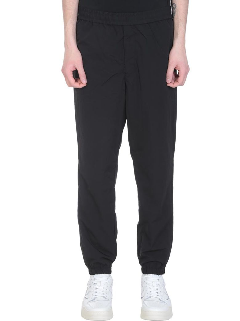 Ami Alexandre Mattiussi Black Nylon Pants - black