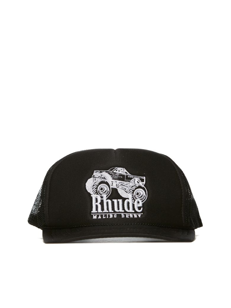 Rhude Embroidered Logo Cap - Black