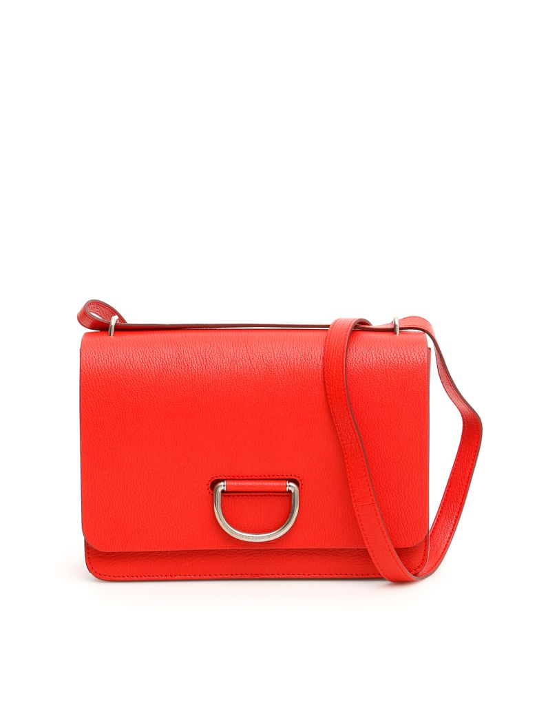 Burberry The D-ring Crossbody Bag - BRIGHT RED (Red)