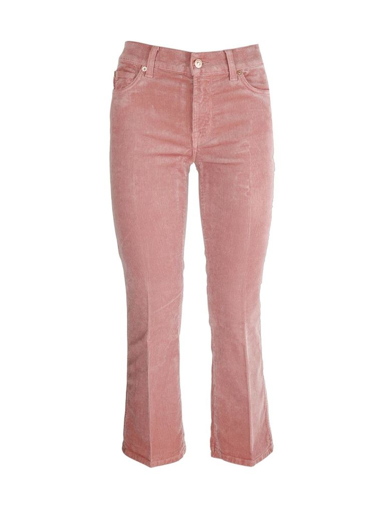 Seven London Seven Cropped boot trousers - Rosa