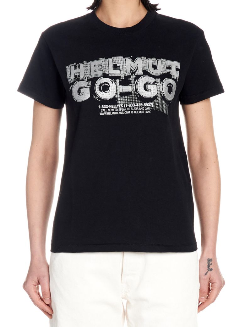 Helmut Lang 'helmut Go' T-shirt - Black
