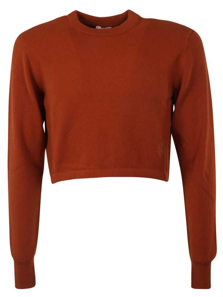 Chloé Cropped Sweater - WILDWOOD BROWN