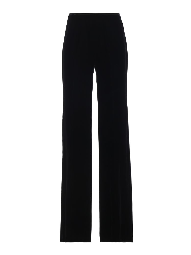 Emporio Armani High Waisted Trousers - Nero