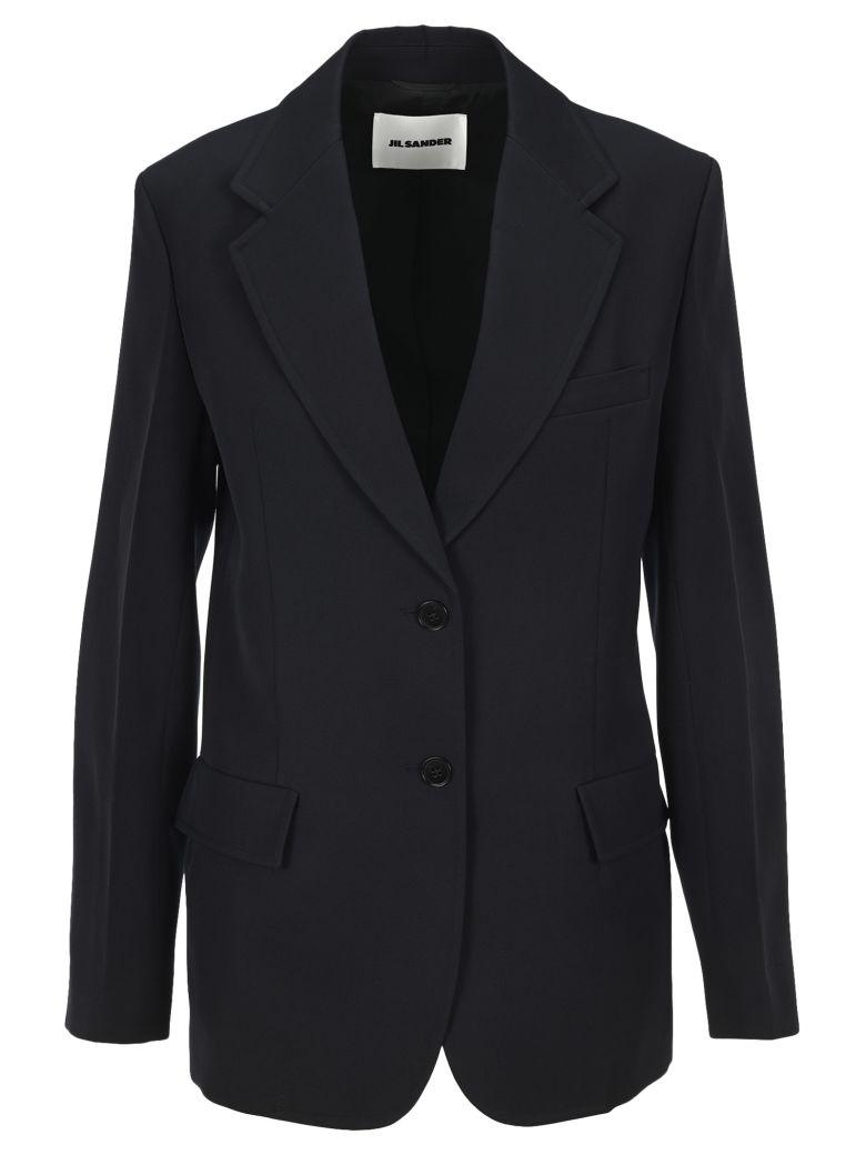 Jil Sander Essential Two Buttons Blazer - DARK BLUE