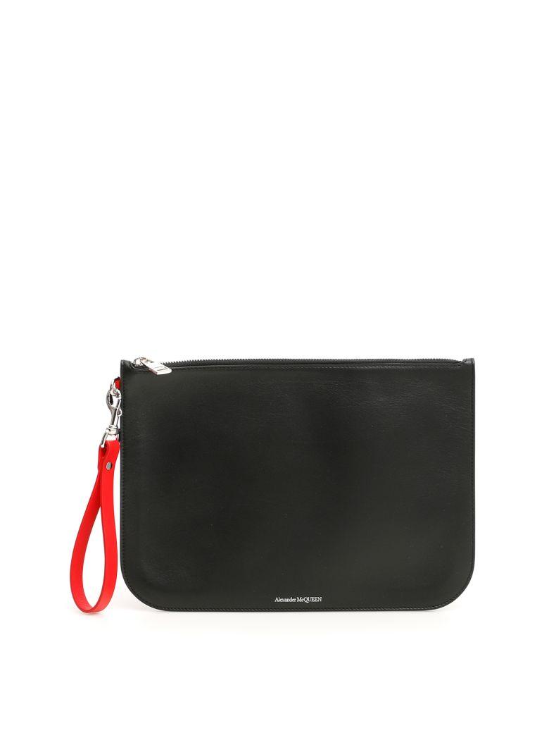 Alexander McQueen Pouch - BLACK LUST RED (Black)