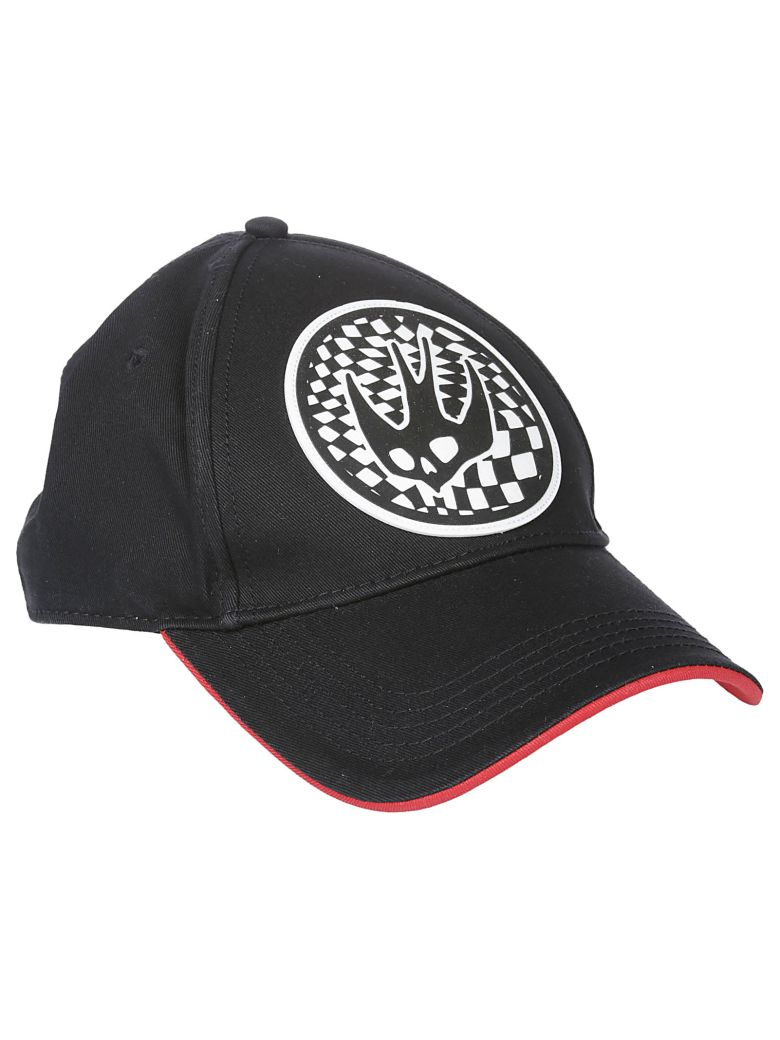 McQ Alexander McQueen Mcq Racing Swallow Cap - Black