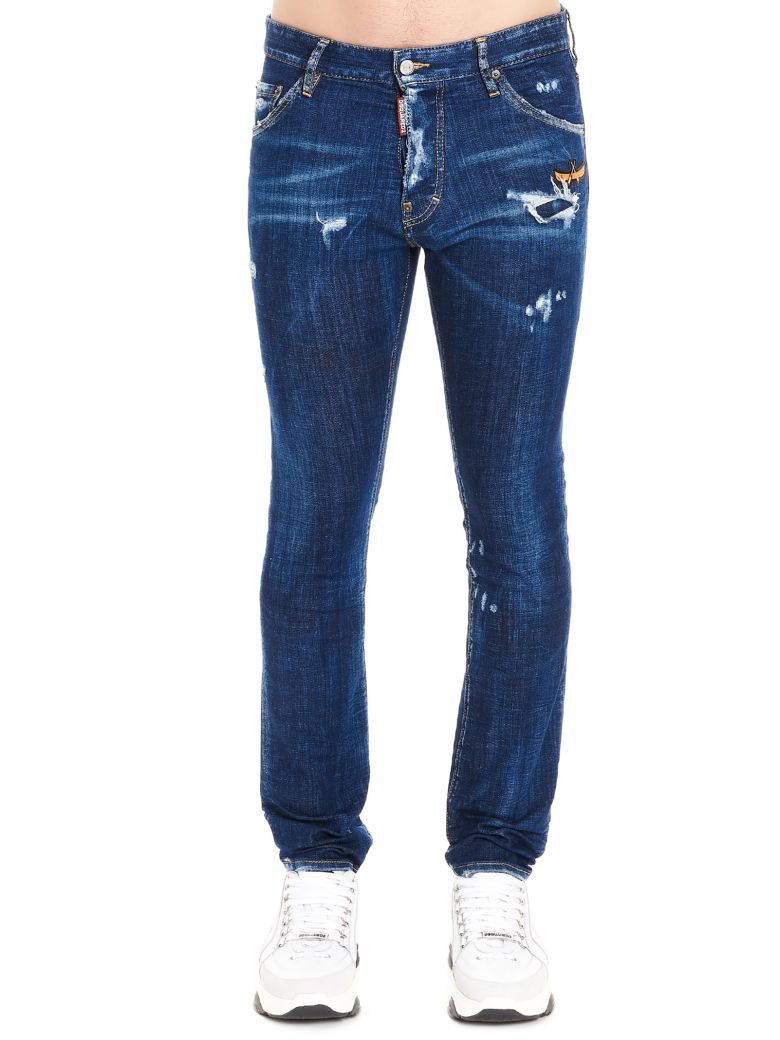 Dsquared2 'cool Guy' Jeans - Blue