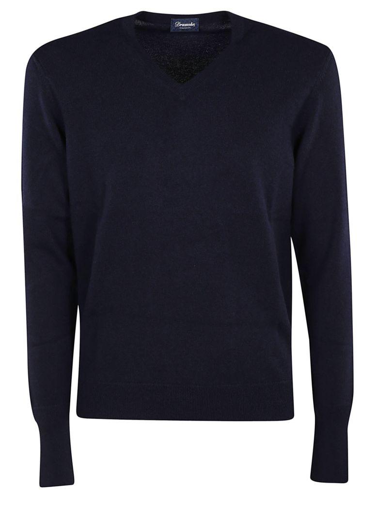 Drumohr Knitted V-neck Sweatshirt - 796