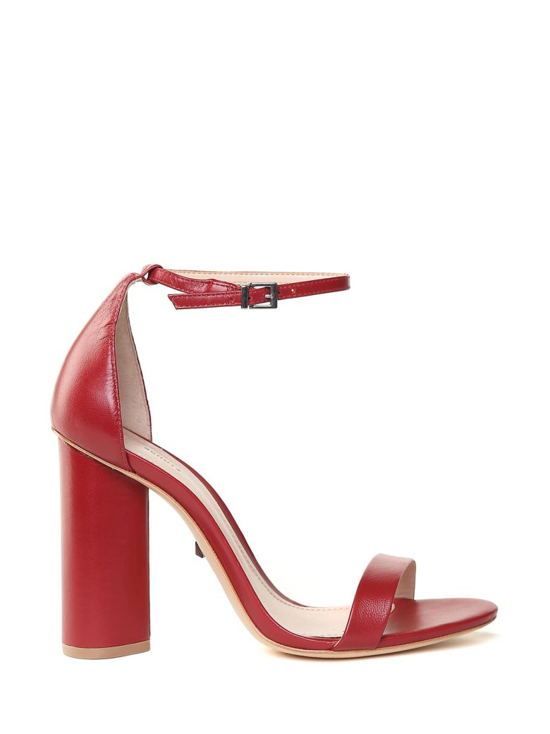 Schutz Sandali In Pelle - Rosso