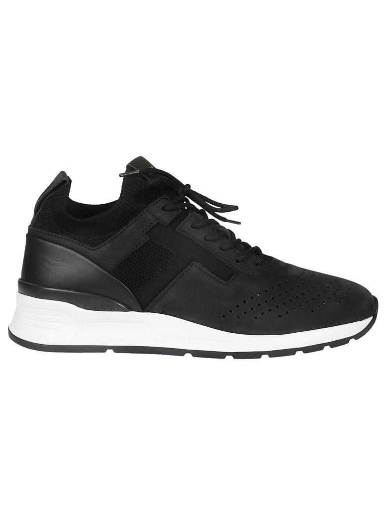 Tod's Elasticated Panel Sneakers - Black