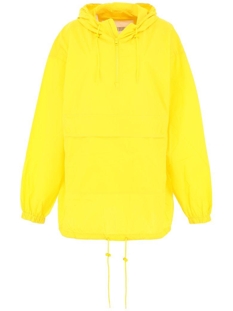 Calvin Klein Logo Windbreaker - YELLOW (Yellow)