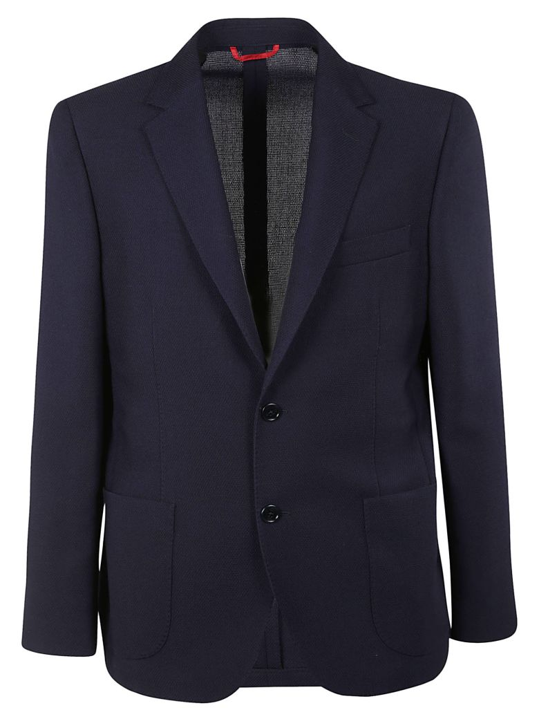 Fay Fitted Blazer - Blue