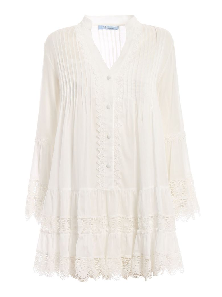 Blumarine Lace Dress - Bianco