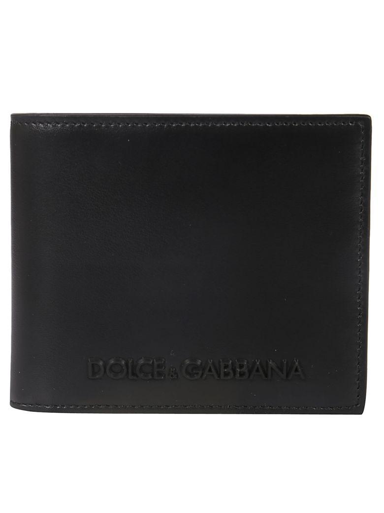 Dolce & Gabbana Classic Logo Bifold Wallet - Black