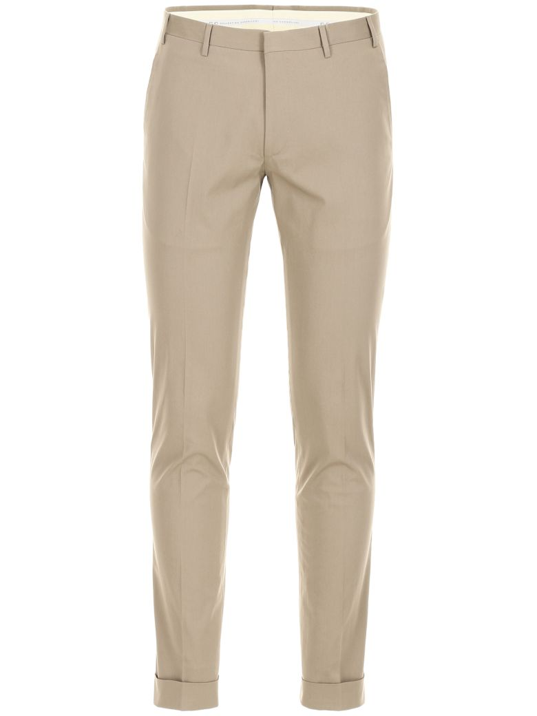 CC Collection Corneliani Classic Trousers - BEIGE|Beige