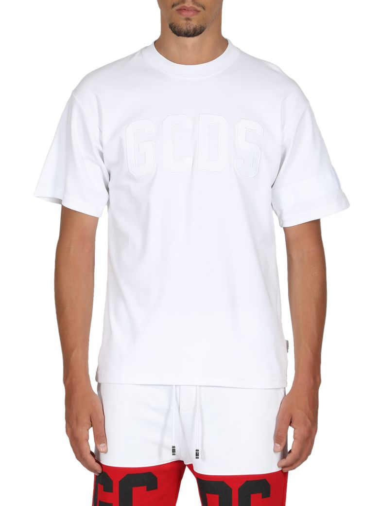 GCDS Logo Tee - Bianco