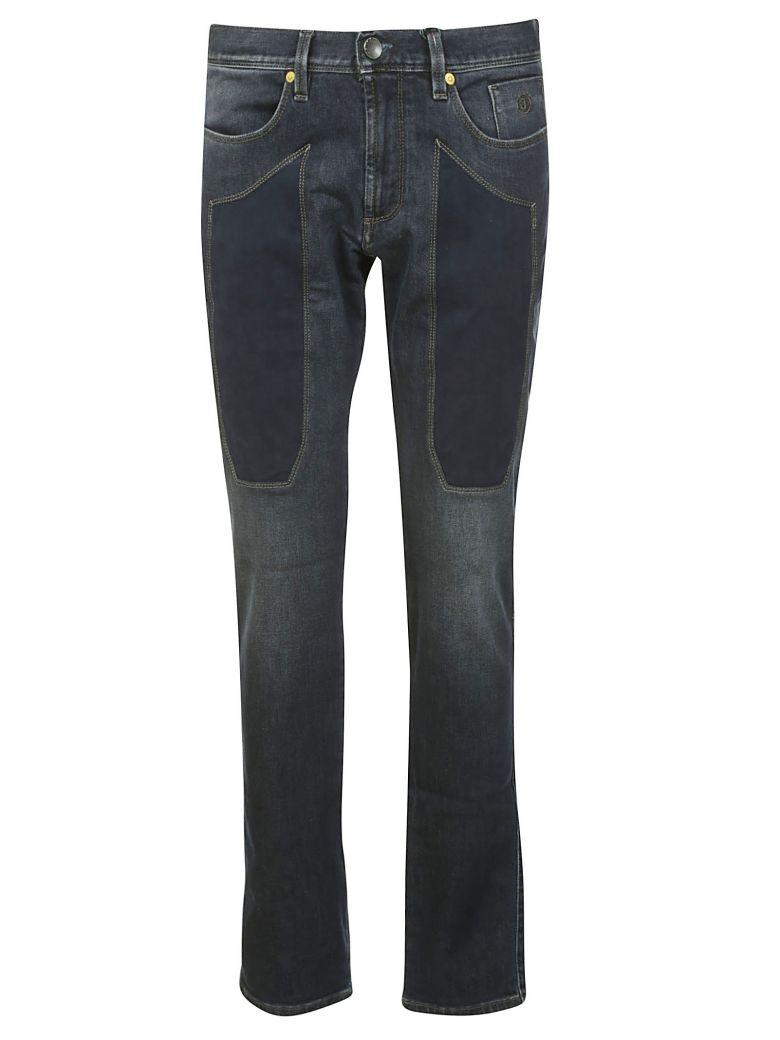 Jeckerson Patch Detail Jeans - BLU