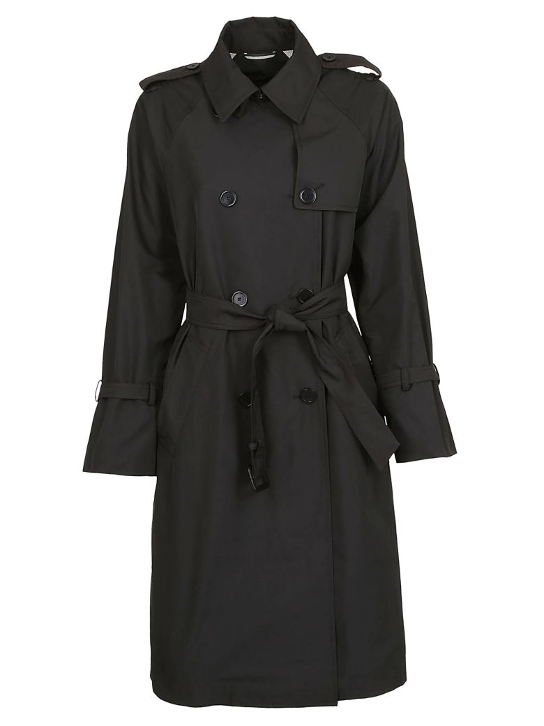Weekend Max Mara Belted Trench - Black