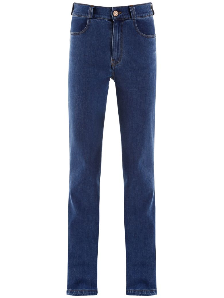 See by Chloé High Waisted Jeans - Blu