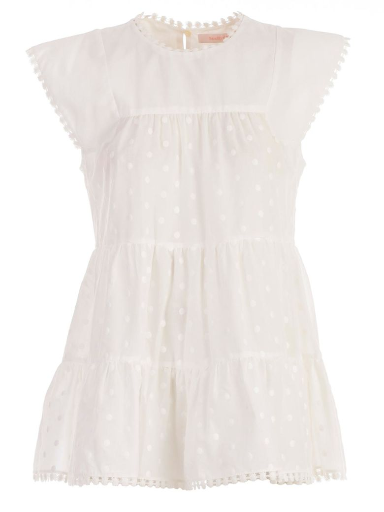 See by Chloé Embellished Blouse - White