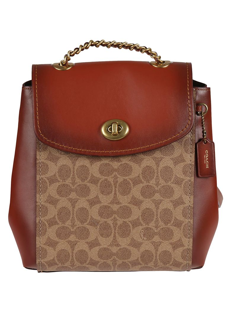 Coach Parker Backpack - Tan rust
