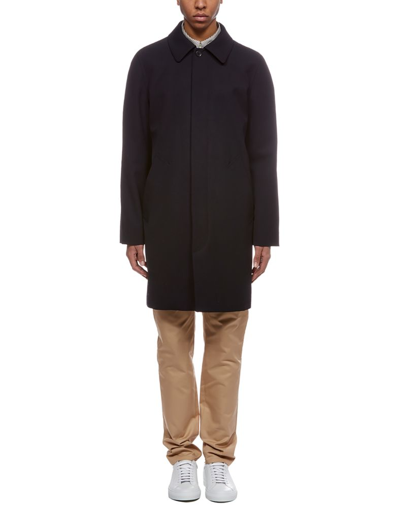 A.P.C. Single Breasted Coat - Blue
