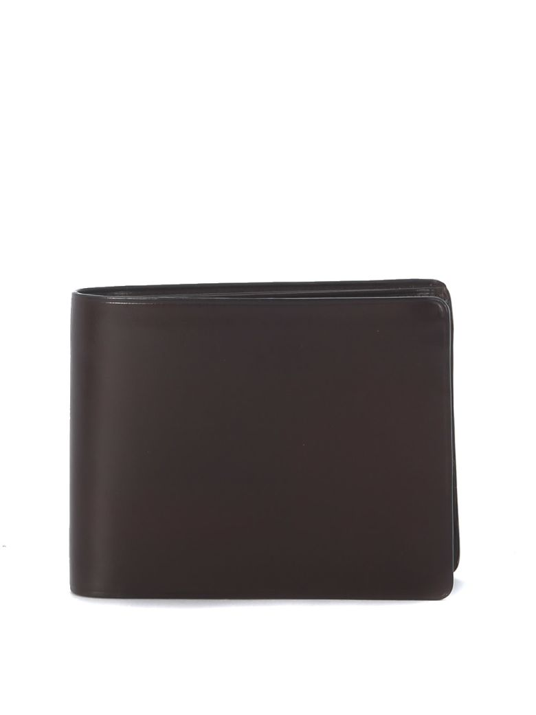 Il Bussetto Brown Leather Wallet - MARRONE